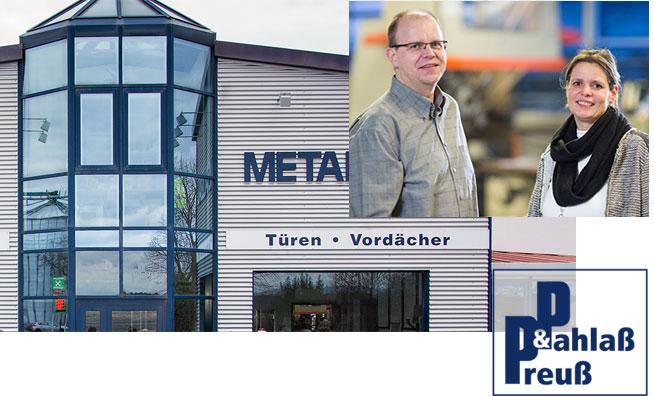 Pahlass und Preuss Metallbau - Firmengebäude